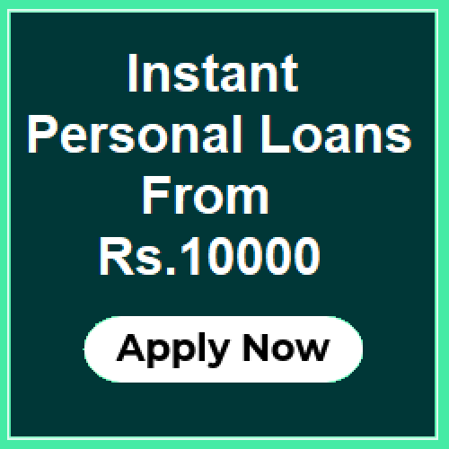 Personal Loan For 10000